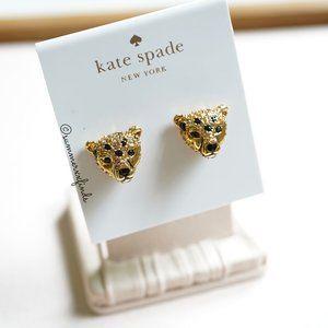 Kate Spade Run Wild Cheetah Stud Earrings